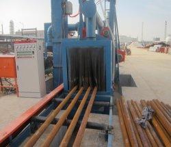 Diverses dimensions de tuyaux en acier de sable de surface grenaillage Machine