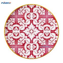 """لوحة الشحن المصنوعة من السيراميك """"Paisbee China Red 12"""" من ألواح السيراميك الكلاسيكية المصنوعة من الدنيرآيس طبق هدايا الزفاف"""