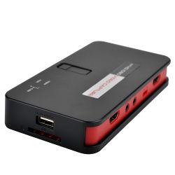 Videoregistratore HDMI HD 1080P Ezcap284 Live Gamer Capture con Funzione streaming video ingresso microfono HDMI/YPbPr/AV Registra direttamente su SD Chiavetta USB
