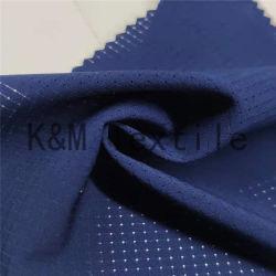 120GSM 100%年のポリエステルメッシュ生地ポリエステル通気性の湿気の吸収の汗取り外しのヨガの衣類ファブリック伸張のスポーツ・ウェアのライニングの衣服の中国の工場