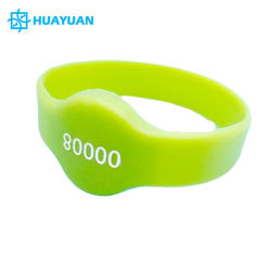 Ultralight EV1 /MIFARE Ultralight C GummibandRFID Wristband-Armband des Swimmingpool-13.56MHz MIFARE