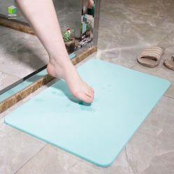 Absorventes de água e anti Slip Diatomite tapete de banho