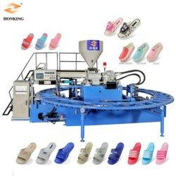 De Schoenen die van de Pantoffels van pvc het Vormen van de Injectie van het Sandelhout van de Machine Machine maken