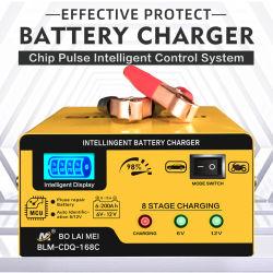 携帯用自動情報処理機能をもった充満モード6 V/12 V 15カー・バッテリーの充電器