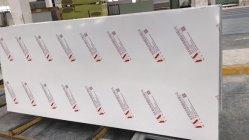 Sándwich de sala limpia el panel de pared con uno o dos caras de la Junta de óxido de magnesio
