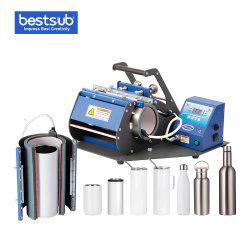La máquina de bloqueo de la transferencia de mayorista Bestsub sublimación Impresión Digital de la máquina de prensa de calor de 20oz Prensa taza vaso flaco