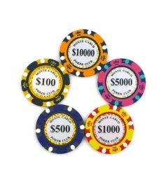 De Hoge kwaliteit van de douane Pokergokchip
