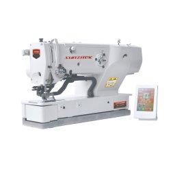 Lockstitch eletrônico do orifício de botão de máquina de costura