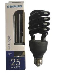 Lampada a luce UV E27 nera 2U con 365nm-385nm (BNF-UV-2U)