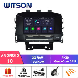 Processeurs quatre coeurs Witson Android 10 DVD de voiture GPS pour Opel Astra J / Opel Cascada / Buick excelle Xt / Vauxhall Astra 2010-2013 construit en fonction OBD radio du véhicule