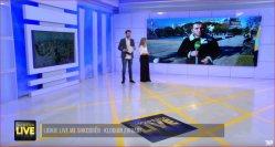 Montage mural 3X4 55inch FHD 1080P Mur vidéo LCD LG IPS avec 3,5 mm Ulatra cache étroit pour TV Studio