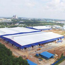 Wiskind fabricado de acero de alto nivel Personalizado edificio almacén