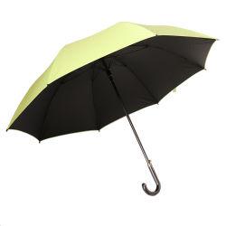 29 بوصة كبيرة صامد للريح عادة أسود طلية لعبة غولف مظلة مع علامة تجاريّة طباعة لأنّ ترقية