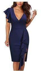 Nouveau design fashion robe élégante de gros de robes de cocktail