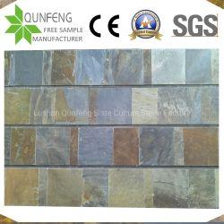 Mattonelle decorative arrugginite di pietra naturali dell'ardesia lastricatore/della pavimentazione