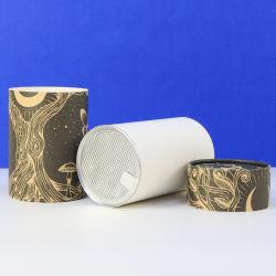 Coperchio facile impaccante rotondo dell'estremità aperta del di alluminio della casella del Kraft di stampa su ordinazione di Firstsail per le latte del tubo del documento del commestibile del caffè del tè