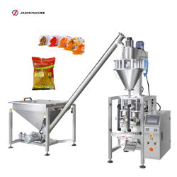 De volledige Automatische Rode Verpakkende Machine van het Kerriepoeder van het Poeder van de Gember van het Poeder van de Zwarte peper van het Poeder van Spaanse pepers