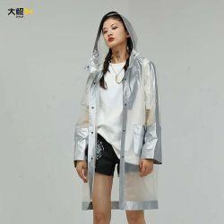 Blocage de la marque de couleur Dakun PVC translucide Long et large couche de poussière