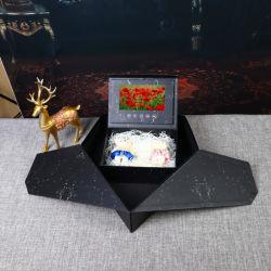 Производители оптовая торговля 7дюйм Flip видео Окно Подарочная упаковка подарочная упаковка коробки Folio Heart-Shaped видео .