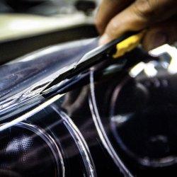 فيلم حماية طلاء المصابيح الأمامية، رقم 60 بوصة X50، ملصق مضاد للأفول، من البولي يورثان المتلدن بالحرارة (TPU) تغليف السيارة