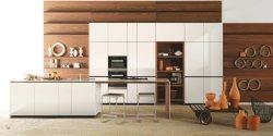Estilo moderno Novo Produto Fábrica Foshan Série minimalista Mobiliário doméstico de contraplacado de armário de cozinha