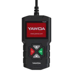 Neuester des Ya201 Codeleser-OBD2 Eobd Prüfung USB-Aktualisierungsvorgangs-Automobil-Adapter Auto-Diagnosehilfsmittel-mehrsprachiger der Batterie-Multi-ELEKTRONISCHES BEDIENGERAET