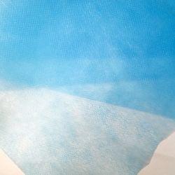 Cor azul e branco Nonwoven Fabric de máscara facial