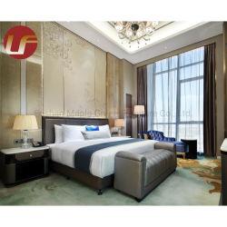 سرير خشبى صينى على الطراز الكلاسيكى الجديد تصميم جديد تحفى أثاث خشبي فاخر بتصميم على سرير
