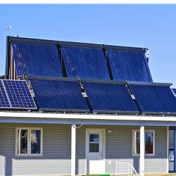 Garantie de 10 ans évacué tube échangeur de chaleur renversé avec SRCC Keymark collecteur solaire