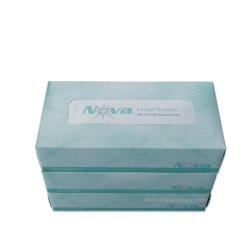 Caixa de tecido facial tecido macio tecido 2 camadas de papel de celulose