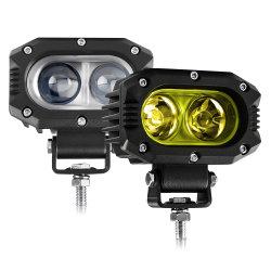 عالية القدرة 20000 لومن مقاومة للماء IP68 بجهد 12 فولت 24 فولت على الطرق الوعرة ضوء عمل LED للسيارة رباعي الدفع رباعي الدفع رباعي النقاط بقوة 40 واط للسيارة الرياضية متعددة الاستعمالات ATV UTV الطرق الوعرة