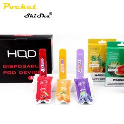 Venda quente Hqd Cuvie Vape descartáveis de líquidos e frutas de caneta