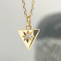 Oro sólido de la moda de joyería de oro 14K y diamantes Collar joyas de oro