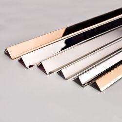 سطح أكثر طلاء من الفولاذ المقاوم للصدأ تجانب التجانب الفضي ركن الموازنة للمطبخ