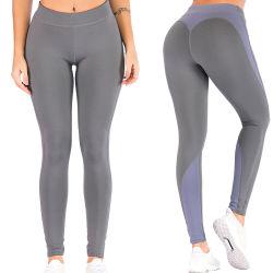 Спортивная одежда для занятий йогой работает тренажерный зал учебных растянуть Legging брюки для женщин/леди