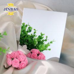 Jinbao 1220 X 2440mm 3mm 2.8mm 레이저 컷 4x8 조각임 발 쪽 플라스틱 보드 아크릴 미러 시트 유리 1mm 골드 색상 아크릴 시트