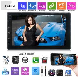 7 inch 2 DIN Android Car Video Stereo met BT, USB, Rearview en Mirrorlink
