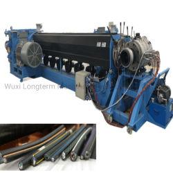 Novo Design 2021 Potência de PVC revestimento do cabo do equipamento de extrusão de fios e cabos Máquina de extrusão