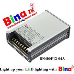 12V 400W clásico diseño resistente al agua de alimentación para la iluminación LED con certificado CE y IP65