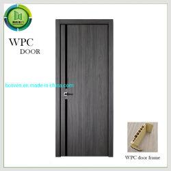 Película de PVC pulsa las puertas del armario de cocina de MDF Puerta de madera con puertas de WPC
