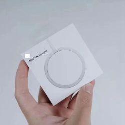 2021 Commerce de gros de haute qualité Hot Sale de luxe à bas prix Original chargeur sans fil MAGSAFE 15W 18W 20W Chargeur magnétique pour le téléphone à 12 cellules accessoires mobiles