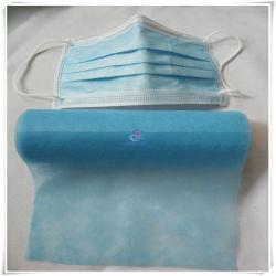 Fornecimento de pregas descartáveis de Máscara de PP Non-Woven Fabric