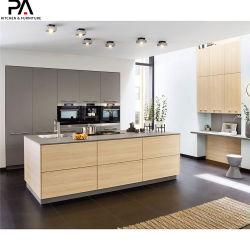 Профессиональный производитель индивидуальные современная роскошь меламина модульная кухня кабинет мебель