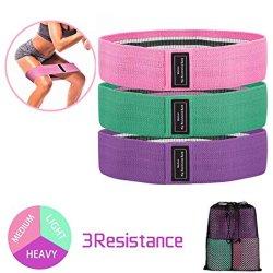 La banda de la resistencia de la cadera ejercicios Squat ejercicio de las bandas de tejido Non-Slip Bucle Gym Fitness Círculo formación para las piernas Butt Glute