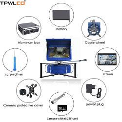 10pouces 23mm tuyau d'inspection de l'appareil photo numérique avec 20m de câble/DVR/d'enregistrement vidéo 6PCS LED