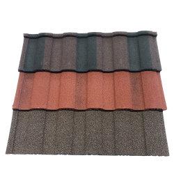 Waviness Stone Coated Roof Tile - Aluminum Zic Ro지붕 지붕의 단글 - 다채로운 샌드 코팅 강철 지붕