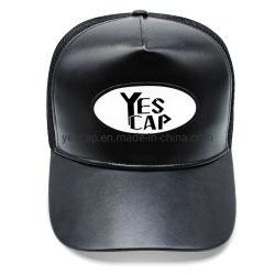Hot Sale PU Logo personnalisé Hats Snapback Caps camionneur Hat