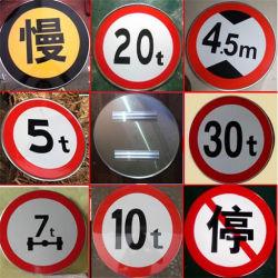 Het in het groot Teken van de Verkeersveiligheid van het Verkeer van de Waarschuwing van de Weg van het Aluminium van de Cirkel van de Straat van de Veiligheid Weerspiegelende Afdekkende
