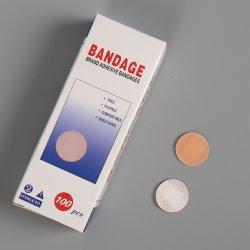 Dia 22 mm Skin Color ademend waterdicht plastic PE wondverband Eerste Hulp rond gips