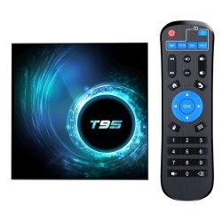 2GB RAM T95 H616 トップ SIM カード BTV 10.0 リモート Google 認定 4GB Shield Gaming TV Box Android